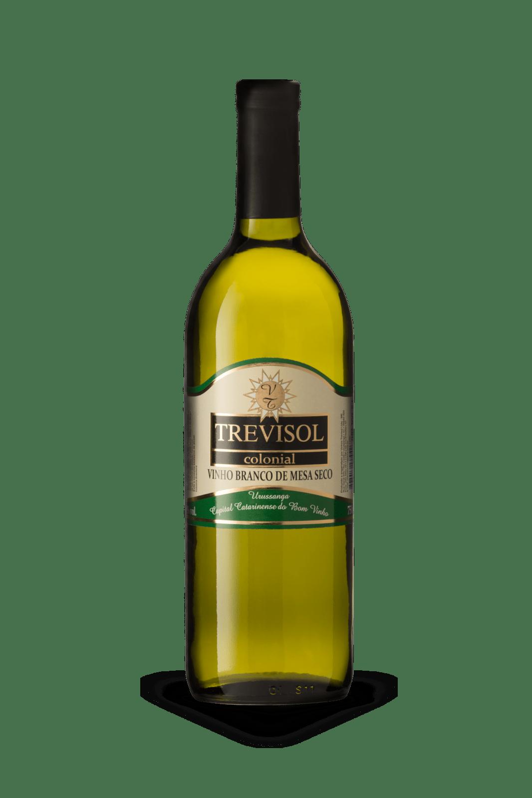 Vinho Trevisol Branco Seco