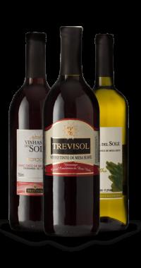 Família de vinhos Trevisol